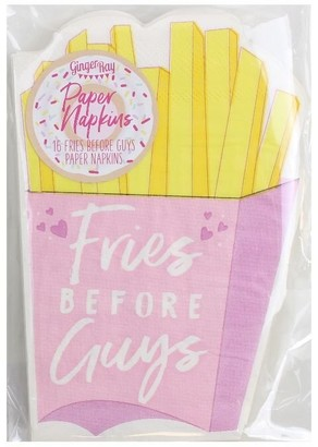 Ginger Ray Napkins Fries Before Guys Set of 16