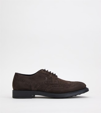 Tod's Lace-ups in Suede