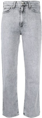 Rag & Bone High Rise Cropped Jeans