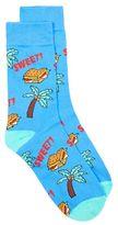 Topman Blue Sweet Motif Socks