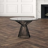 """Bend Goods Switch Coffee Table Color: Black, Size: 0.5"""" H x 22"""" W x 22"""" D"""
