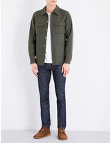 A.p.c. Collared Wool-blend Jacket