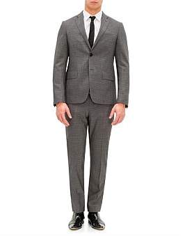 Pal Zileri Lab by 2B Sb Sv Stretch Wl Check Suit
