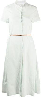 Fabiana Filippi Full Shape Embellished-Collar Dress