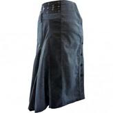 Mariella Rosati Grey Wool Skirt for Women
