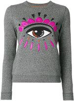 Kenzo Eye sweatshirt - women - Cotton/Spandex/Elastane - S