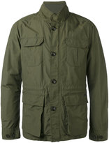 Woolrich multi-pockets high neck jacket - men - Cotton/Polyamide/Polyester - L