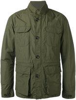 Woolrich multi-pockets high neck jacket - men - Cotton/Polyamide/Polyester - XXL