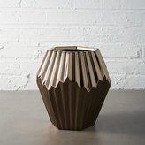 CB2 Alexa Copper Vase-Planter