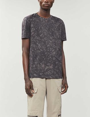 HUGO BOSS Graphic-print cotton-jersey T-shirt