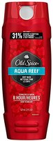 Old Spice Body Wash Red Zone Aqua Reef 21 Oz (621ml), 1.45 Pound