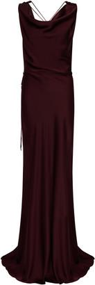Safiyaa Uma Silk-Satin Slip Dress