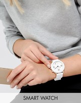 Marc Jacobs Connected MJT1004 Bracelet Hybrid Smart Watch In White