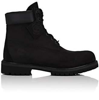 "Timberland Men's ""6-Inch"" Nubuck Boots - Black"