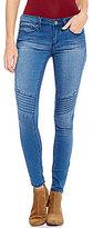 YMI Jeanswear Hyperflex Moto Skinny Jeans