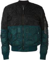 Marcelo Burlon County of Milan 'Ollague Alpha MA-1' bomber jacket