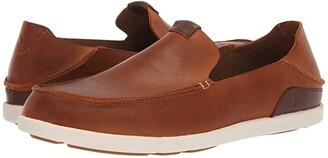 OluKai Nalukai Slip-On (Fox/Bone) Men's Slip on Shoes