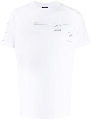 Marcelo Burlon County of Milan abstract-print crew-neck T-shirt
