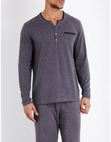 Hugo Boss Henley Jersey Pyjama Top