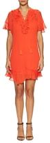 Endless Rose Tassel Strap Ruffled Asymmetrical Dress