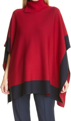 HUGO BOSS Lisandra Wool Poncho