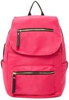 Madden-Girl Proper Nylon Flap Backpack