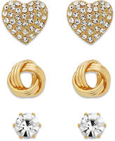 Thalia Sodi Mix and Match Stud Earring Trio, Created for Macy's