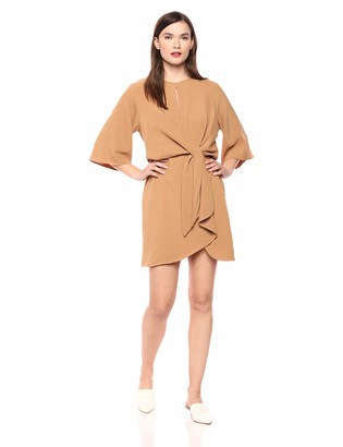 LIKELY Women's Lucia Crepe tie Front Cocktail Dress