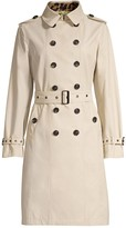 Jane Post Double-Breasted Trench Coat