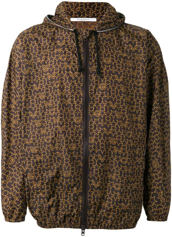 Givenchy logo print lightweight jacket