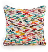 Mackenzie Childs MacKenzie-Childs Zigzag Square Pillow