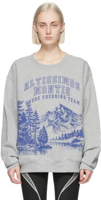 Rhude Grey Trekking Sweatshirt