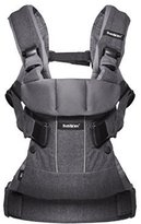 BABYBJÖRN BABYBJ?RN Baby Carrier One (Denim Grey/Dark Grey, Cotton Mix) by Baby Bjorn