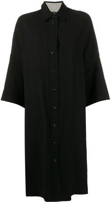 Joseph Baker oversized striped-hem shirt dress