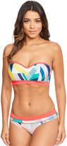 Figleaves Laguna Beach Underwired Bandeau Bikini Top