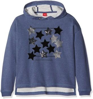 S'Oliver Girl's 66.708.41.3182 Sweatshirt