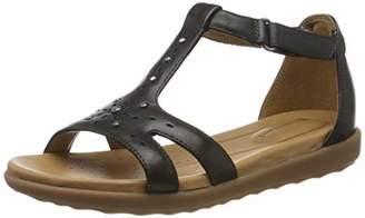 Clarks Un Reisel Mara, Women's T-Bar Sandals,(35.5 EU)