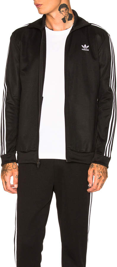 Details about $75 Adidas Men Superstar Relaxed Track Jacket black white