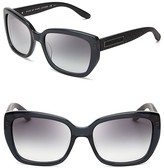 MARC BY MARC JACOBS Side Textured Angled Wayfarer Sunglasses