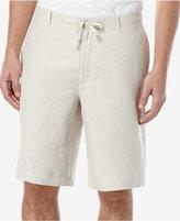 Perry Ellis Men's Linen Drawstring Shorts