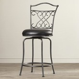 "Apatow Bar & Counter Swivel Stool Fleur De Lis Living Seat Height: Counter Stool (24"" Seat Height)"