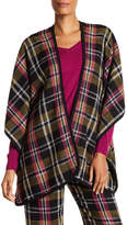 Trina Turk Galina Plaid Blanket Cardigan