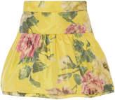 Marchesa Ruffle Taffeta Skirt