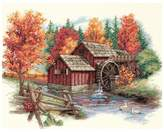 Dimensions Glory Of Autumn Counted Cross-Stitch Kit