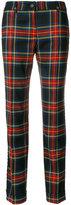 P.A.R.O.S.H. checked pants - women - Spandex/Elastane/Virgin Wool - XS