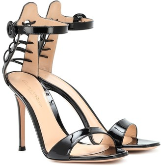 Gianvito Rossi Patent-leather sandals