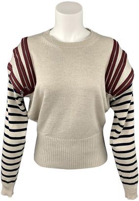 Jean Paul Gaultier Beige Wool Knitwear
