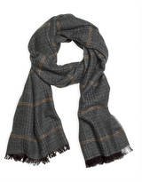 Brooks Brothers Tweed Print Scarf