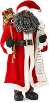 North Pole Trading Co. Christmas Cheer 36 Traditional Santa With List