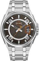 Harley-Davidson Men's Bar & Shield Dimensional Stainless Steel Watch 76B180